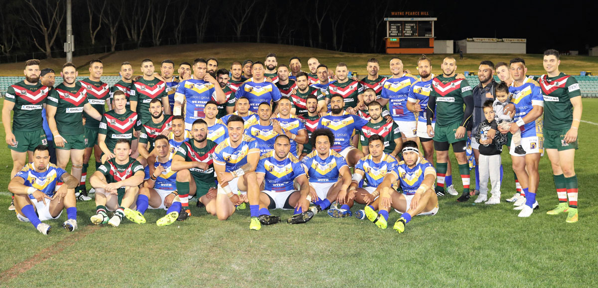 Cedars defeat Niue in RLWC warm-up