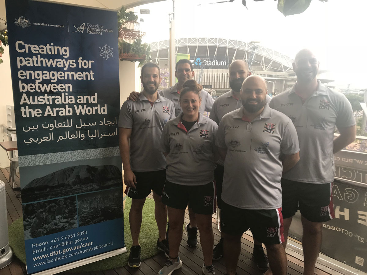 LEBANON RUGBY LEAGUE COACHING & MATCH OFFICIALS TAKING SUCCESS BACK HOME